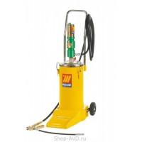 Meclube 1096 Солидолонагнетатель пневматический на колесах (16 кг)