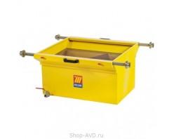 Meclube 1457G Ванна для слива масла 120 л на роликовых опорах