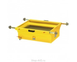 Meclube 1457 Ванна для слива масла 90 л на роликовых опорах