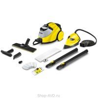 Пароочиститель SC 5 EasyFix (yellow) Iron Kit с паровым утюгом