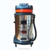 TOR Водопылесос с сливным шлангом WL70-70L2B INOX (2 мотора)