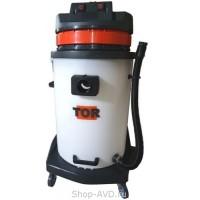 TOR Водопылесос с сливным шлангом BF581A PLAST (2 мотора)