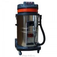 TOR Водопылесос с сливным шлангом WL70-70L3B INOX (3 мотора)