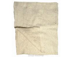 Тряпка холстопрошивная нетканая 80х100 см (упаковка 50 шт)