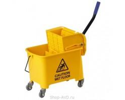 ACG AF08068 Уборочное ведро с отжимом 20 л жёлтое