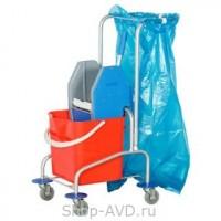 BOL Equipment Тележка уборочная алюминиевая 25 л