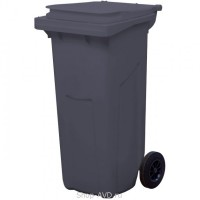TARA Мусорный контейнер МКТ 120 л (серый)