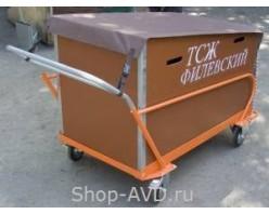 VDU Тележка для сбора и вывоза мусора 0498 (560 л)