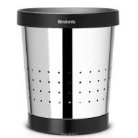 Brabantia Корзина для бумаг 5 л (зеркальный хром)