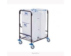 Тележка BOL Equipment для сбора мусора 95.129, 2 х 120 л