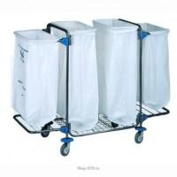 Тележка для сбора мусора BOL Equipment (95.128), 4 х 120 л