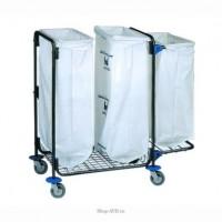 Тележка для сбора мусора BOL Equipment, 3 х 120 л, 95.130 (2)