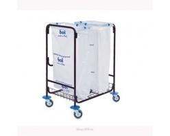 Тележка BOL Equipment для сбора мусора 95.129, 2 х 120 л (2)
