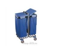 Тележка BOL Equipment для сбора мусора 10.106Н, 2 х 120 л