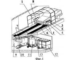 Автоматическая мойка колес и днища легковых автомобилей АМКД